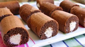 Как приготовить шоколадное пирожное с творожно-кокосовым кремом