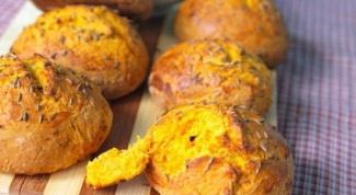 Как приготовить тыквенные булочки