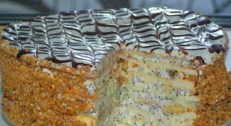 Торт «Паутинка»