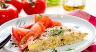 Как приготовить испанский омлет