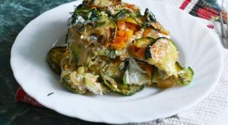 Как приготовить гратен из кабачков?