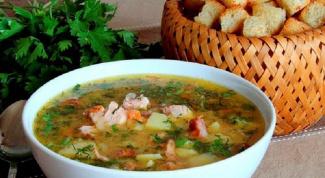Как приготовить гороховый суп с ребрышками