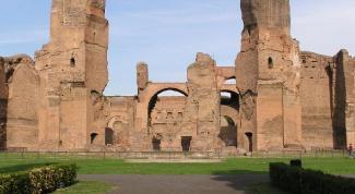 Термы Каракаллы – излюбленное место отдыха древних римлян