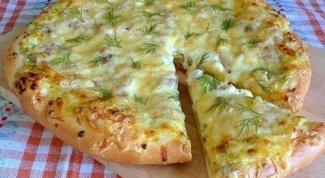 Как приготовить пиццу по-деревенски