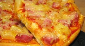 «Гавайская» пицца