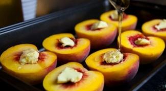 Как приготовить персики, запеченные с тимьяном