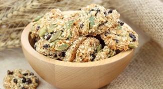 Овсяное печенье с тыквенными семечками