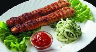 Как приготовить вкусный люля-кебаб