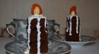 Как приготовить пирожное «Свеча»