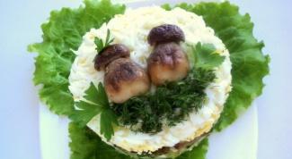 Как приготовить салат «Боровички»