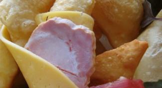 Итальянские соленые пончики Gnocco Fritto