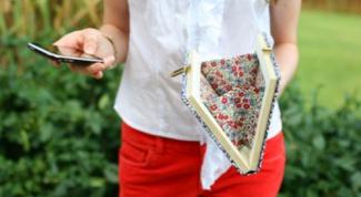Клатч-книга - как сделать своими руками