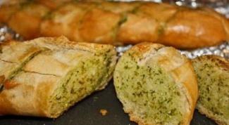 Хлеб с зеленью