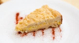 Сырный пирог на кефире