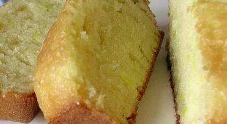 Как испечь лимонный кекс с цукатами?