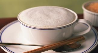 Белый кофе на двоих с топленым молоком