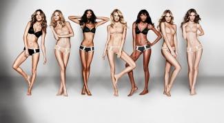 Питание моделей Виктории Сикрет