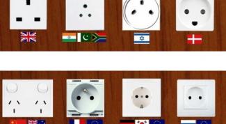 Стандарты электрических розеток