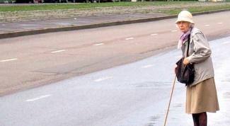 Что делать, если бабушке трудно ходить