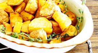 Жареный картофель с соусом айоли