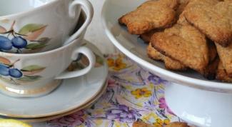 Как приготовить хрустящее лимонное печенье