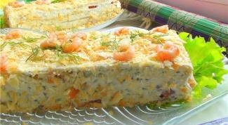 Как приготовить закусочный пирог с семгой