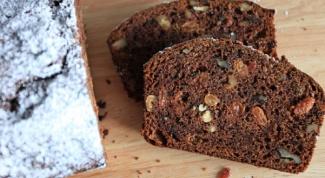 Как приготовить содовый хлеб с хурмой