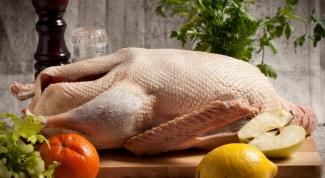 Запеканка из мяса гуся
