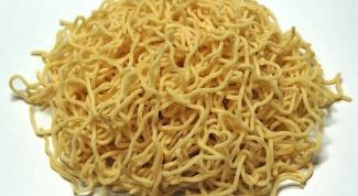 Harmful than pasta noodles