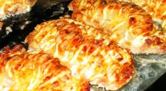Бифштекс с сыром