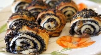 Как приготовить творожные булочки с маком