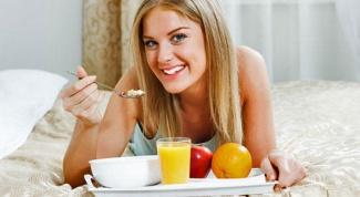 Как завтракать, чтобы худеть?