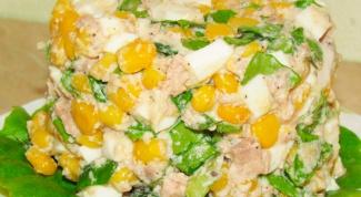 Салат из отварной печени