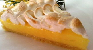 Вишневый и лимонный пай с открытым верхом