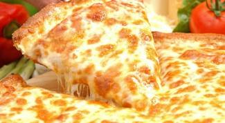Как сделать пиццу с сыром