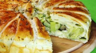 Как приготовить овощной пирог «Щедрый фермер»