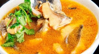 Тайский рыбный бульон