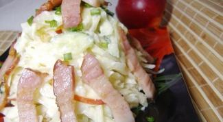 Салат из капусты с изюмом