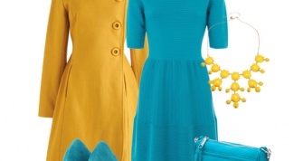 Бирюзовое платье: с чем носить?