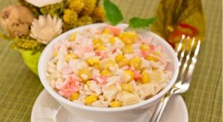 Готовим вкусный салат с кукурузой
