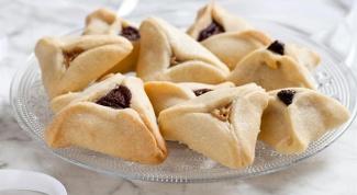 Как приготовить печенье «Уши Амана»