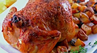 Курица, запеченная в бальзамическом уксусе
