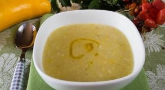 Кабачковый суп «Прохлада»