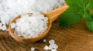 Соль для ванны своими руками