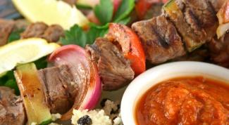 Рецепты соусов к шашлыкам