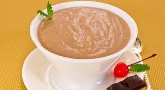 Как приготовить шоколадный мусс на манной крупе