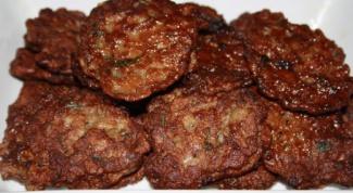 Печеночные оладьи - вкусно и быстро