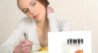 Продукты с высоким содержанием соли