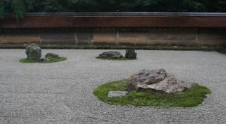 Японский сад камней: в чем суть?