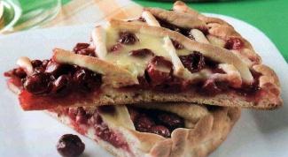 Как испечь вишневый пирог